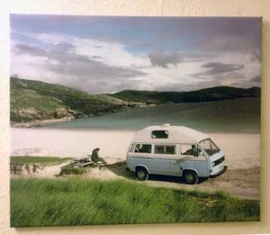 VW T25 Camper Canvas