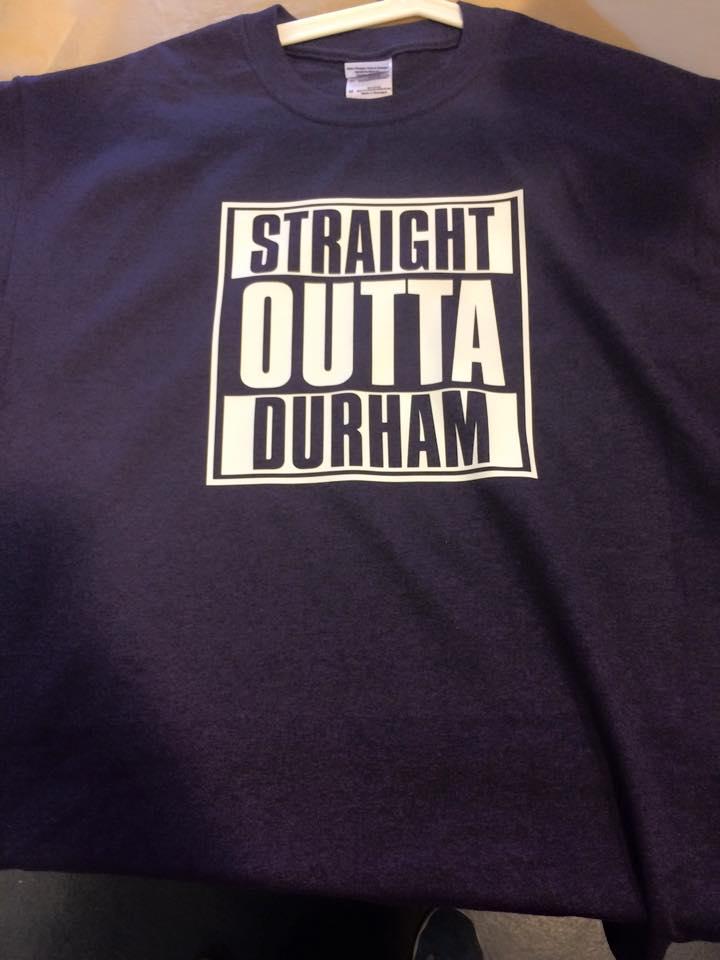 straight outta durham t shirt ksdigital durham